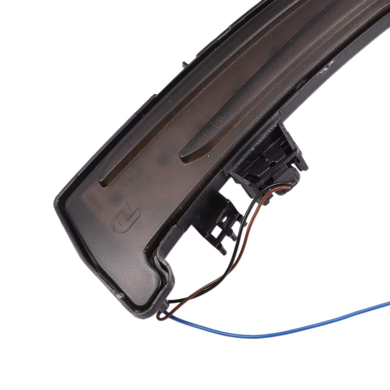 TOOGOO Clignotant Dynamique pour Voiture LED Clignotant R/éTroviseur Lat/éRal pour Mercedes W221 W212 W204 W176 W246 X156