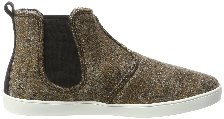 Boots Tweed Chelsea, Zapatillas de Estar por Casa Unisex Adulto, Marrón (Chesnut 280), 41 EU Living Kitzbühel