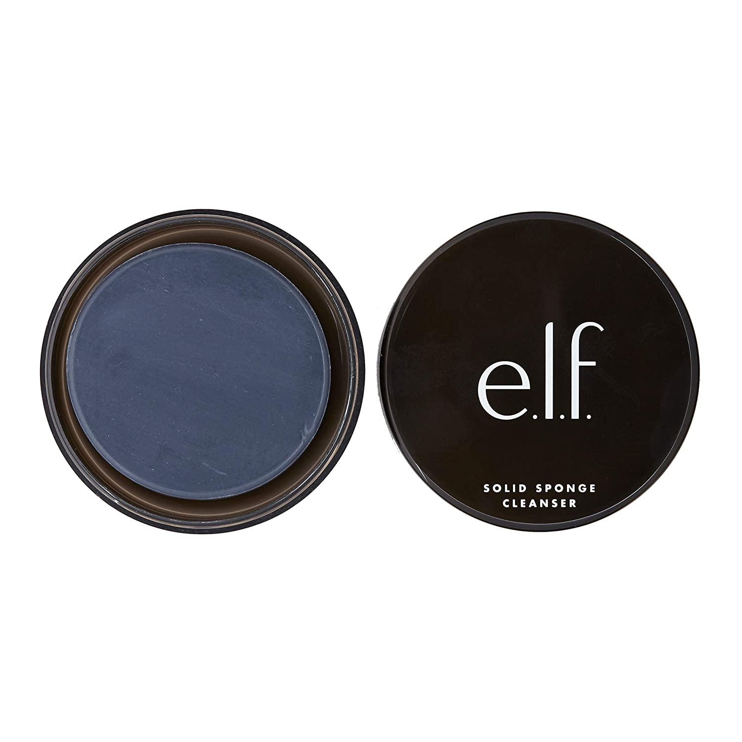 e.l.f. Solid Brush and Sponge Cleanser with Travel Case, 1.56 oz.