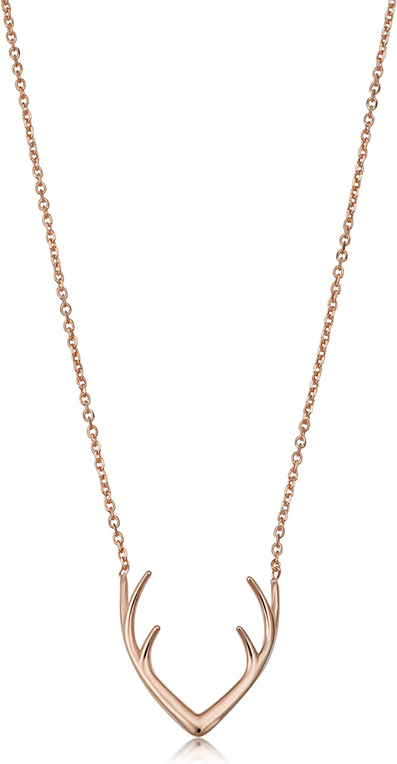 yellow gold, white gold or rose gold Kooljewelry 14k Gold Crescent Moon Necklace 18 inch