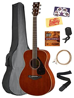 side facing yamaha fs850 acoustic guitar kit