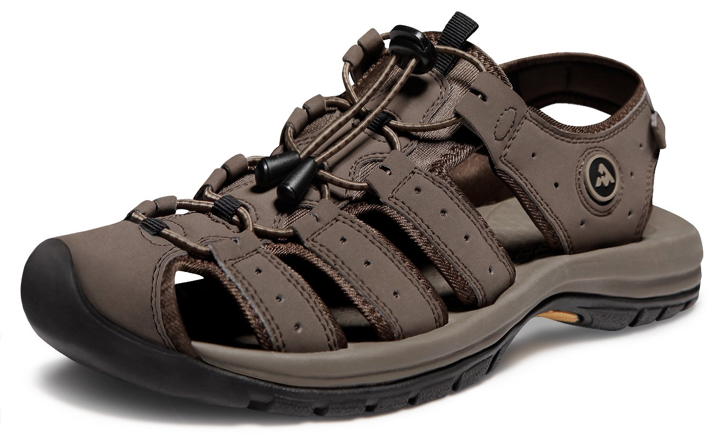 ATIKA AT-M130-CB_Men 11 D(M) Men's Sport Sandals Trail Outdoor Water Shoes M130 Cairo Orbital