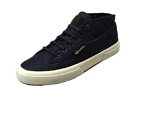 Superga 2754Quiltnylu Sneaker a Collo Alto Unisex Adulto Navy 43 EU W8I