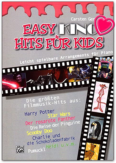 Easy Kino Hits para niños – 12 arreglos de piano fáciles de tocar ...