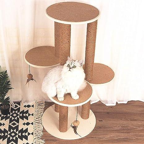 QNMM Muebles para Gatos, Varios Niveles, árbol de Gatos, Torre, Torre,