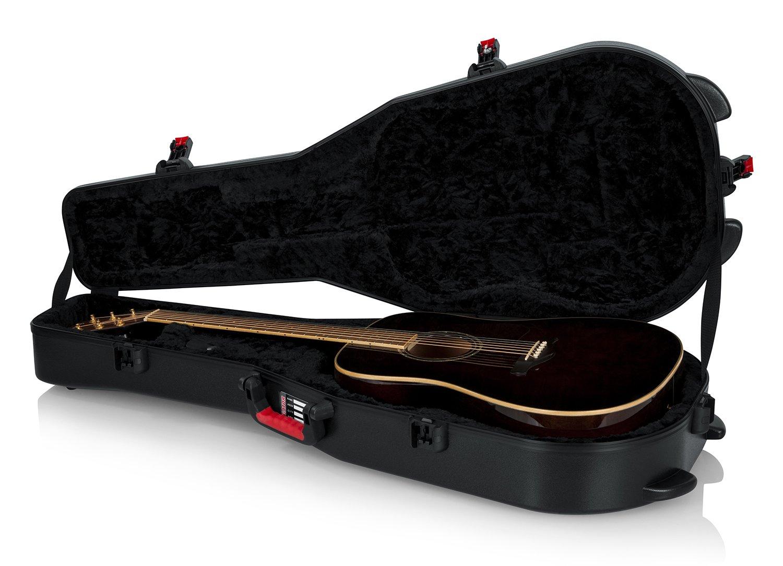 GATOR ゲーター アコースティックギター用 ハードケース TSA Guitar Series 軽量設計 GTSA-GTRDREAD (ドレッドノートタイプ対応) 【国内正規品】   B01BGX82G8