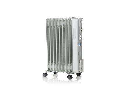 Universal Blue URA2000-16 Radiador de Aceite 2000 W, Gris