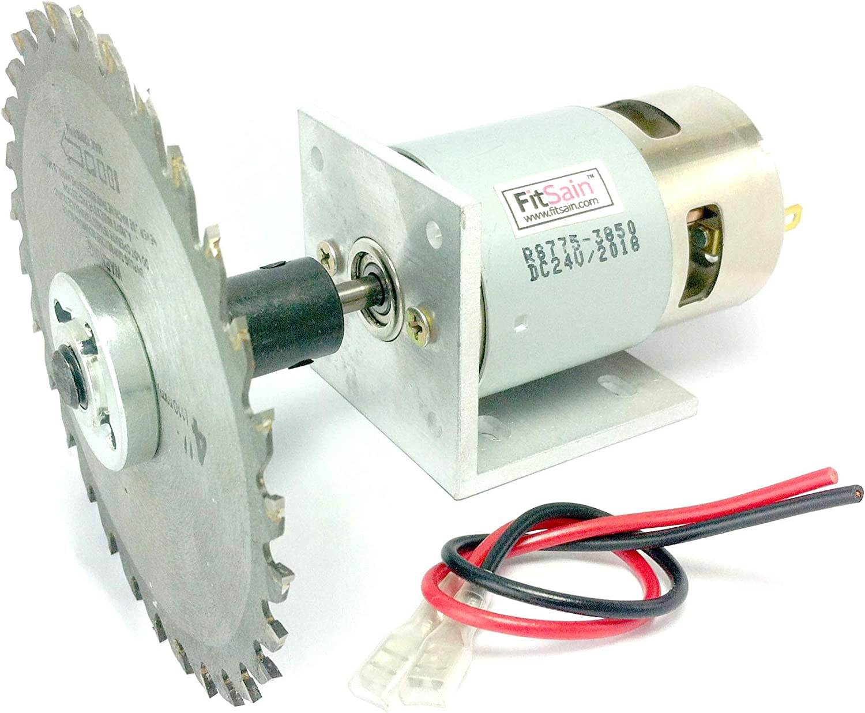 FitSain-Mini sierra de mesa 775 motor DC24V 8000RPM 4