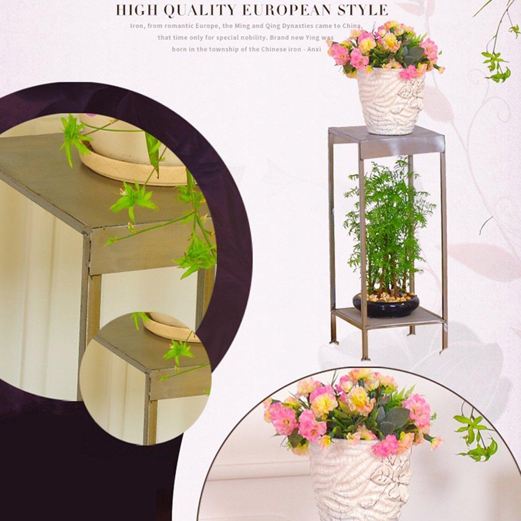 Suelo Soportes Arte Flores Tipo Interior Planta Hierro Y De Ygfby76