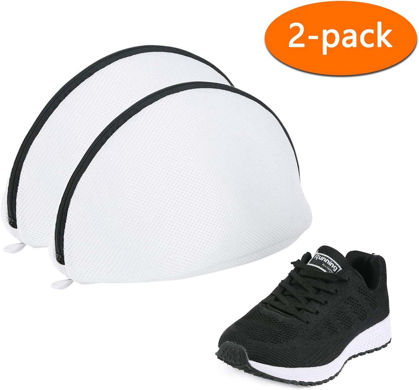 Eono by Amazon - Bolsa para Lavadora para Zapatillas, Bolsa Malla de Lavandería para Lavadoras Bolsas de Colada para Zapatos/Zapatillas de Deport, 2 Pcs