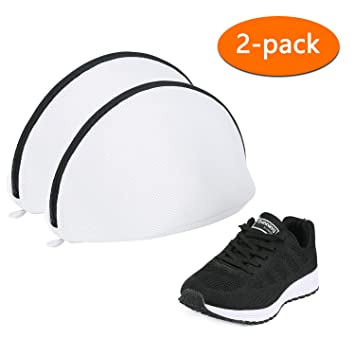 mit die für haltbarem Schuh für Amazon mit ReißverschlussSchutz Schutz 2er Eono WaschnetzWäschebeutel hohem Packung Waschmaschine by Wäschenetz DWHIY9E2