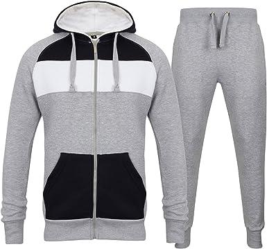 Outfit Designer Chandal Regular Para Hombre Gris Grey3tone L Amazon Es Ropa Y Accesorios