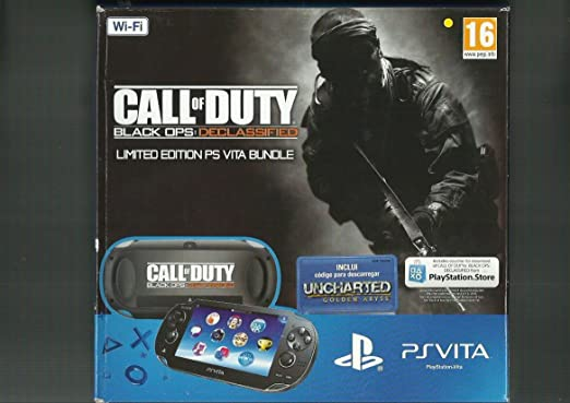 Sony - Ps vita wifi + call of duty +Uncharted+ memory 4gb + case ps vita: Amazon.es: Videojuegos