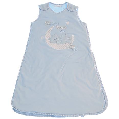 Osgood Textiles 1010a Pitter Patter - Saco de dormir infantil azul Talla:6-12