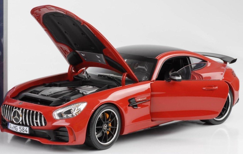 183452 Rosso Norev Mercedes-Benz-amg GT r-2018/Auto in Miniatura da Collezione