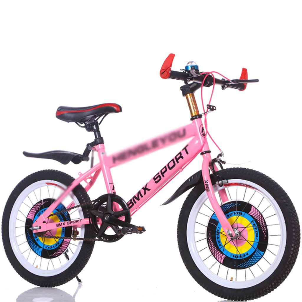 Duwen子供の自転車子供の自転車単一速度18 /20 /22 /24インチ7 – 12 Years OldオスとメスElementary and Middle学校学生Mountain Bikeピンク B07F18TRZ4 20 inch