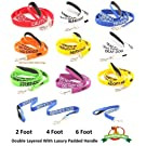 ADOPT ME FriendlyDogCollars Colour Coded Dog Accident Prevention Leads 1.2m Prevents Dog Accidents By Letting Others Know Your Dog In Advance Award Winning