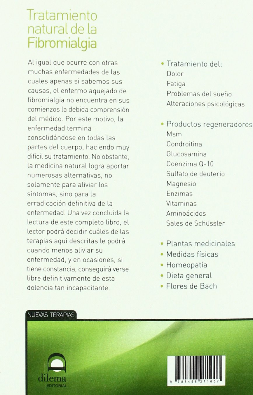Tratamiento natural de la Fibromialgia (Spanish Edition ...