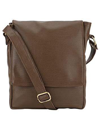 Buy The Runner Men's Brown Sling Bag Online at Low Prices in India ...