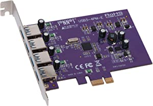 Sonnet Allegro USB 3.0 PCIe 4-Port (Mac and Windows Compatible)