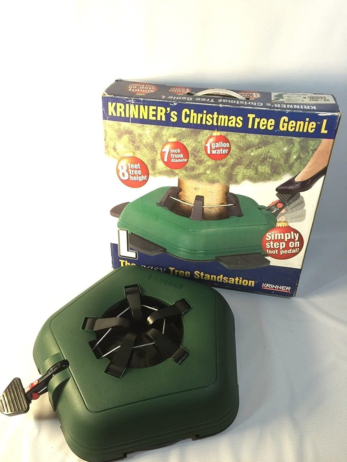 Amazon.com: Krinner Christmas Tree Genie Easy Standsation New In Box ...