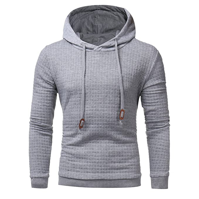 Amazon.com: Sunmoot Long Sleeve Hoodie Tops for Men Plus Size Spring Lightweight Hooded Sweatshirt Blouse (S-5XL): Clothing
