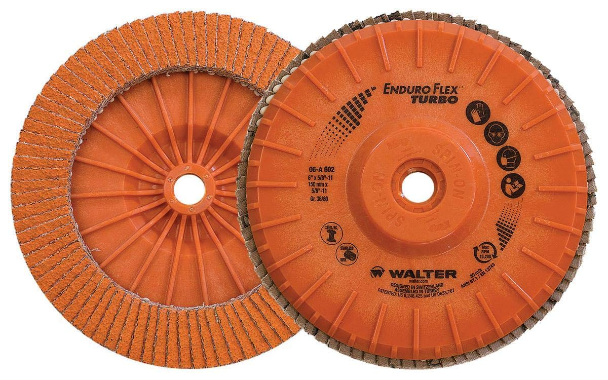 Walter Enduro-Flex Turbo Abrasive Flap Disc, Type