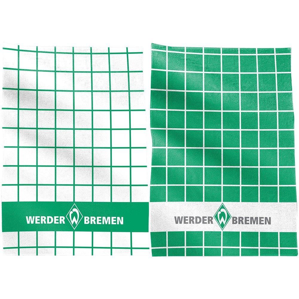 50 x 70 cm SV Werder Bremen Geschirrtuch 2-er Set