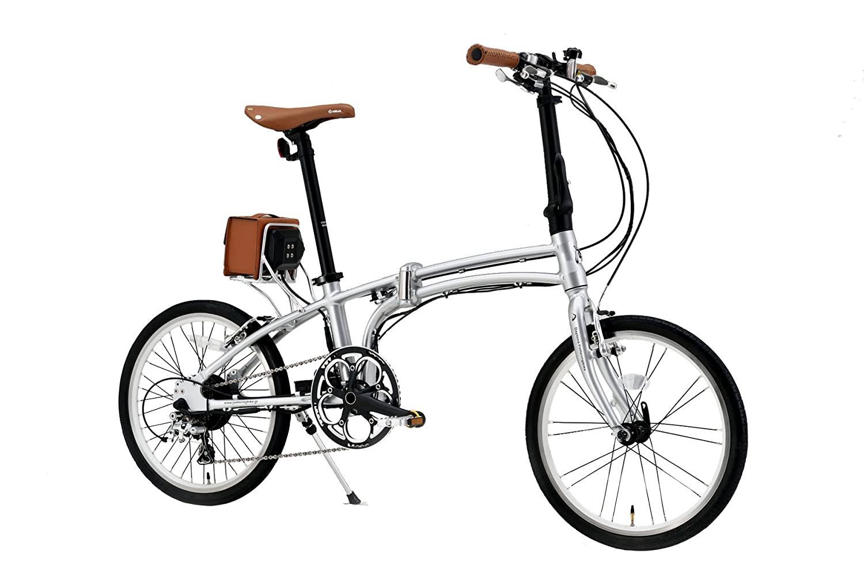 Daytona Pottering Bike(デイトナ ポタリングバイク) 電動アシスト自転車DE01S B015F3D89Qシルバー