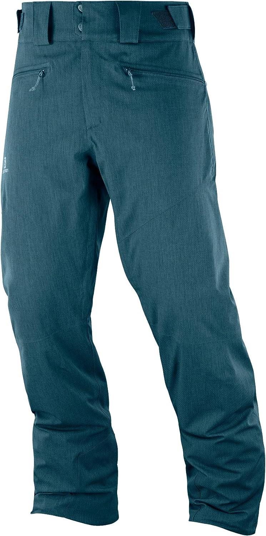 サロモン(SALOMON) スキーウエア メンズ パンツ FANTASY PANT MEN (ファンタジー パンツ メンズ) 2019-20年モデル サイズS~L Reflecting Pond アジアンレングス-L