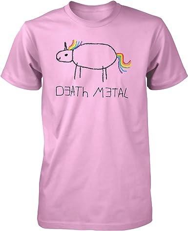 Death Metal Unicorn Death Metal Unicorn – Camiseta.: Amazon.es: Ropa y accesorios