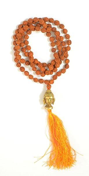 Amazon.com: Odishabazaar Rudraksha Japa Mala Yoga Prayer ...