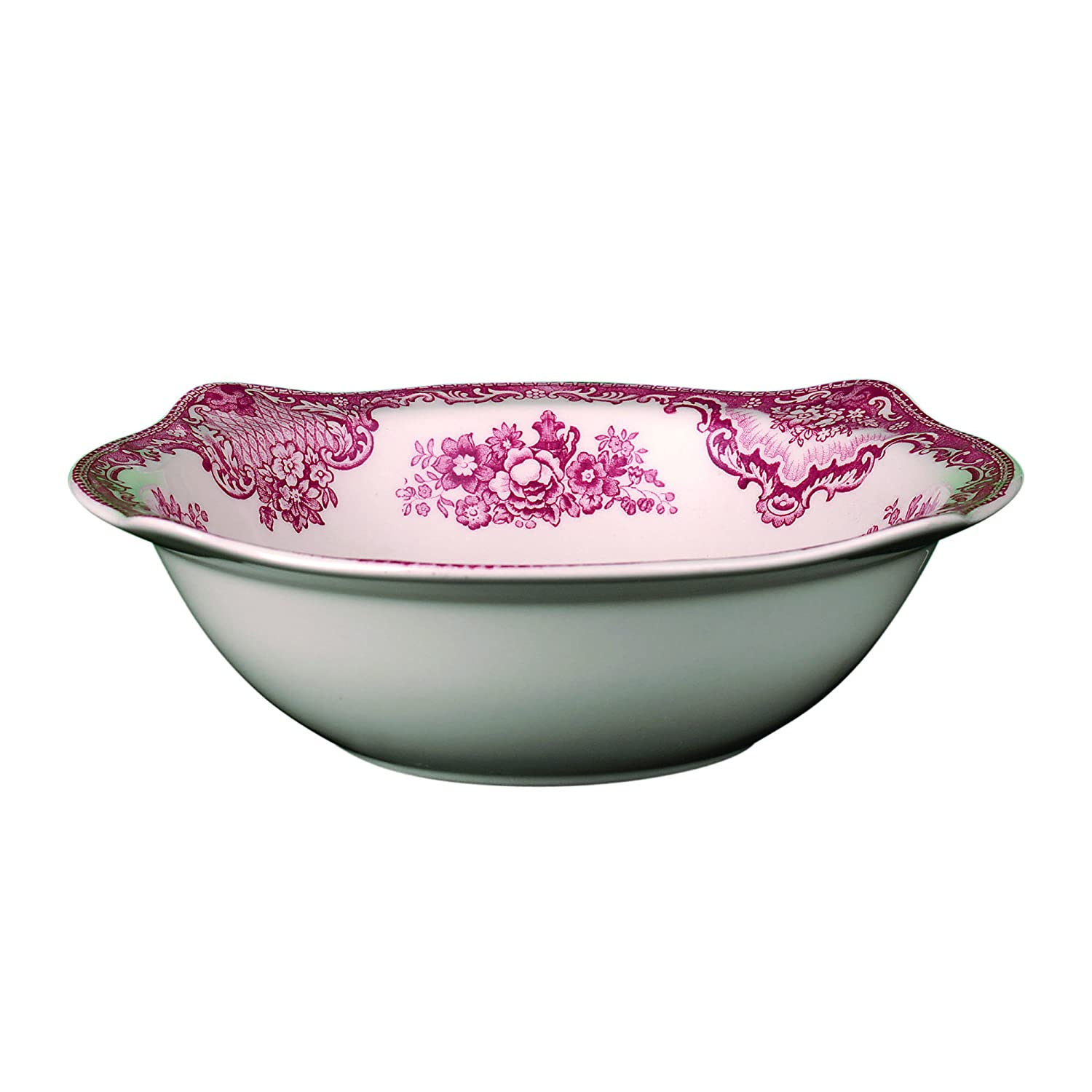 Johnson Brothers Old Britain Castles Pink Open Vegetable Bowl 2425621034