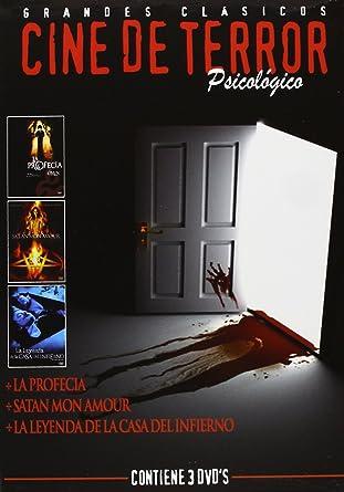 Pack: Cine De Terror Psicológico [DVD]: Amazon.es: Gregory Peck, Lee Remick, Harvey Stephens, Alan Alda, Jacqueline Bisset, Barbara Parkins, Roddy McDowall, Gayle Hunnicutt, Pamela Franklin, John Hough, Paul Wendkos, Richard Donner, Gregory