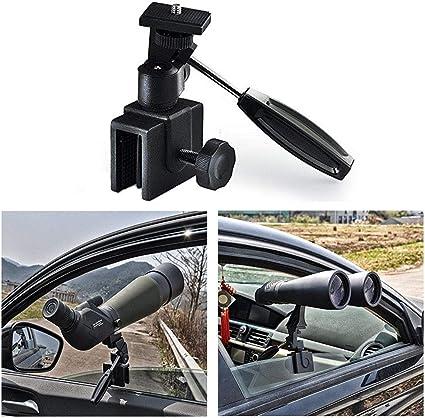 Compact Scopes Binoculars Black Car Window Mount Clamp for Spotting Scopes