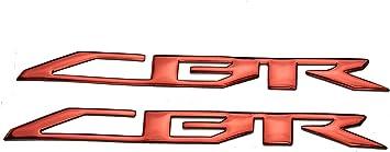 PRO-KODASKIN Motorcycle Universal 3D Raise Emblem Sticker Decal for Honda CBR600RR CBR1000RR