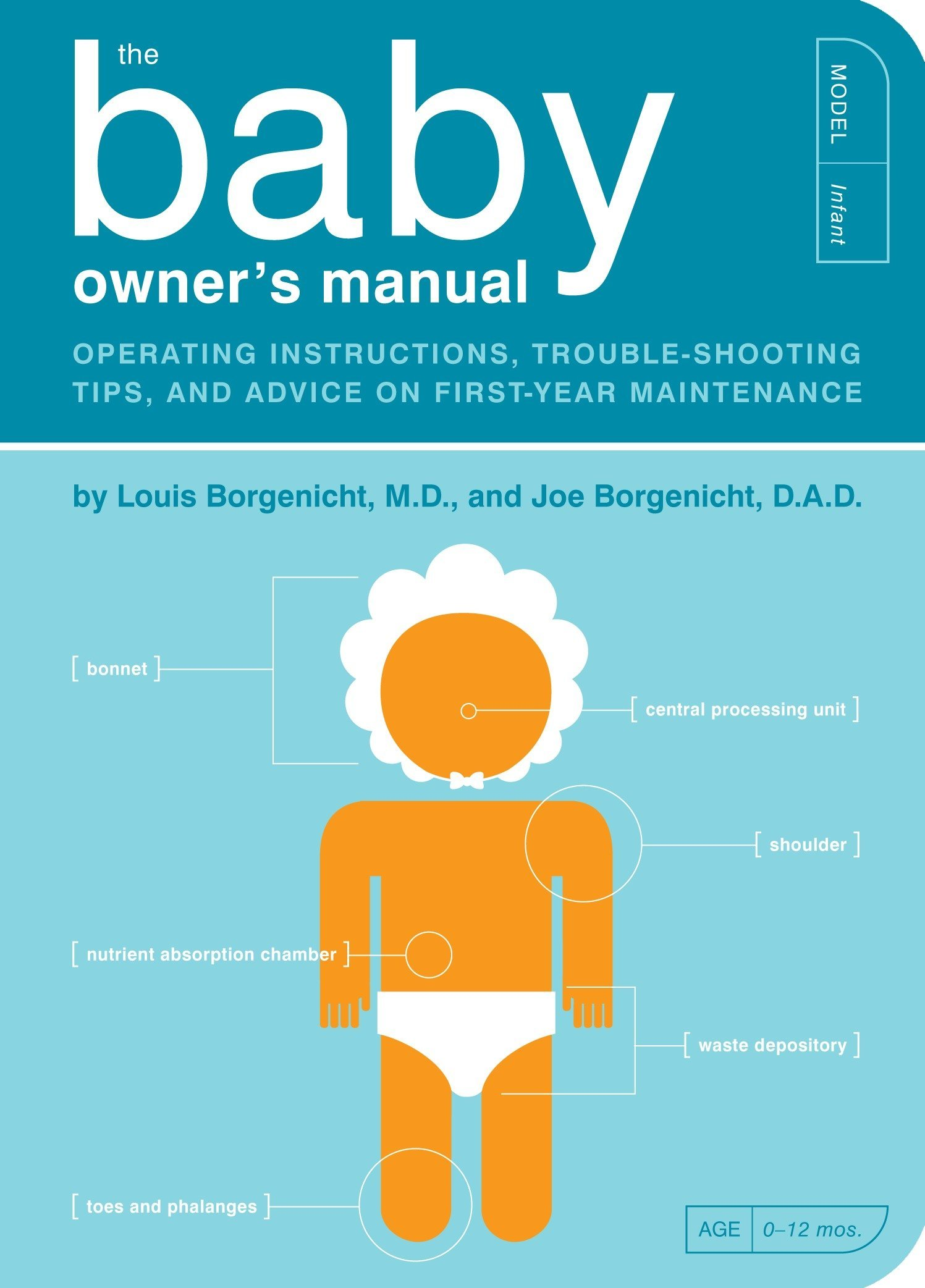 The Baby Owner's Manual: Operating Instructions, Trouble-Shooting Tips, and  Advice on First-Year Maintenance (Owner's and Instruction Manual): Louis ...