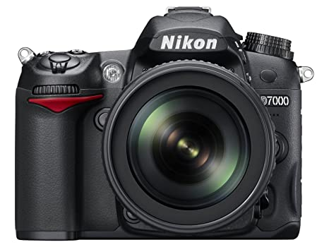 Nikon D7000 16 2 Megapixel Digital SLR Camera with 18-105mm Lens (Black)