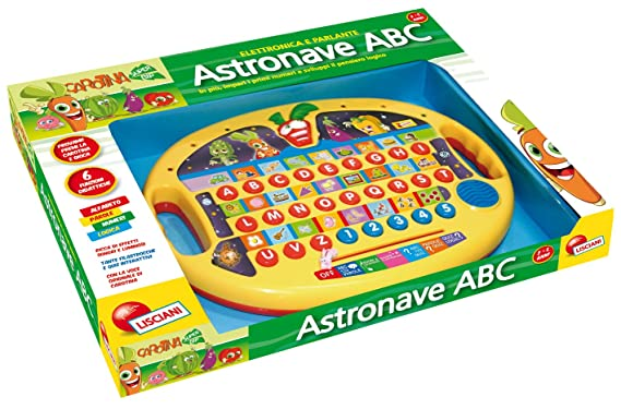 Liscianigiochi 33096 Carotina Astronave Abc