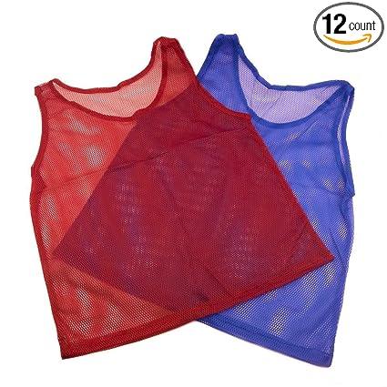 c94e3f213 Amazon.com   Nylon Mesh Scrimmage Jerseys 12 pcs   Sports   Outdoors