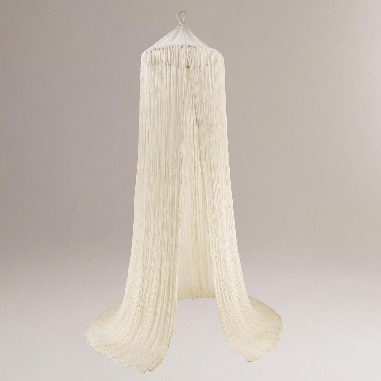Amazon.com World Market Indian Cotton Gauze Canopy for Bed Chair Papasan Netting Health u0026 Personal Care & Amazon.com: World Market Indian Cotton Gauze Canopy for Bed Chair ...