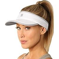 SAAKA - Visera súper absorbente para mujer, embalaje premium, correr, tenis, golf y todos los deportes, suave, ligero y…