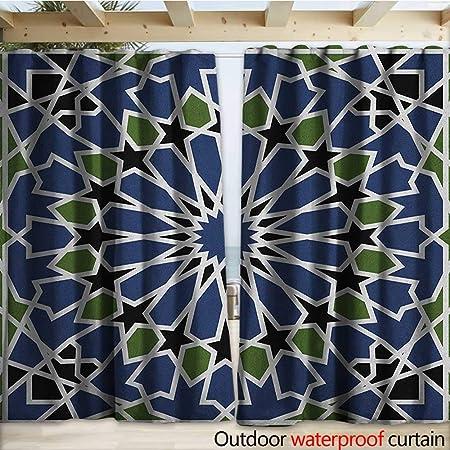warmfamily - Cortinas de Porche, diseño de Mosaico arábigo, Estilo ...