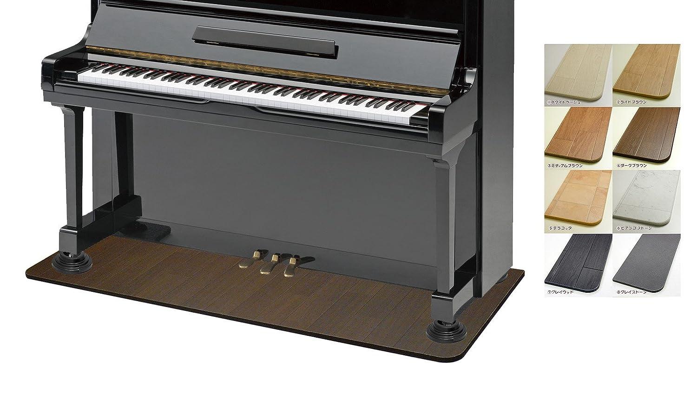【ノーブランド品】ピアノステージ【防音タイプ】グレイウッド/Lサイズ/本体ボードのみ B01N59MF6Y  Gウッド/L/本体ボードのみ