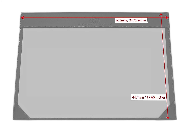 A2 Schreibtischhalter, Kunstleder, Kunstleder, Kunstleder, Schwarz, Lieferung mit 12 Blatt 120 g   m² Papier c8113f