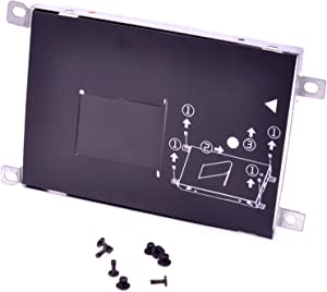 Deal4GO 7mm SSD SATA Hard Drive Caddy HDD Bracket Frame Tray with Screws for HP ProBook 450 G3/455 G3/470 G3/475 G3