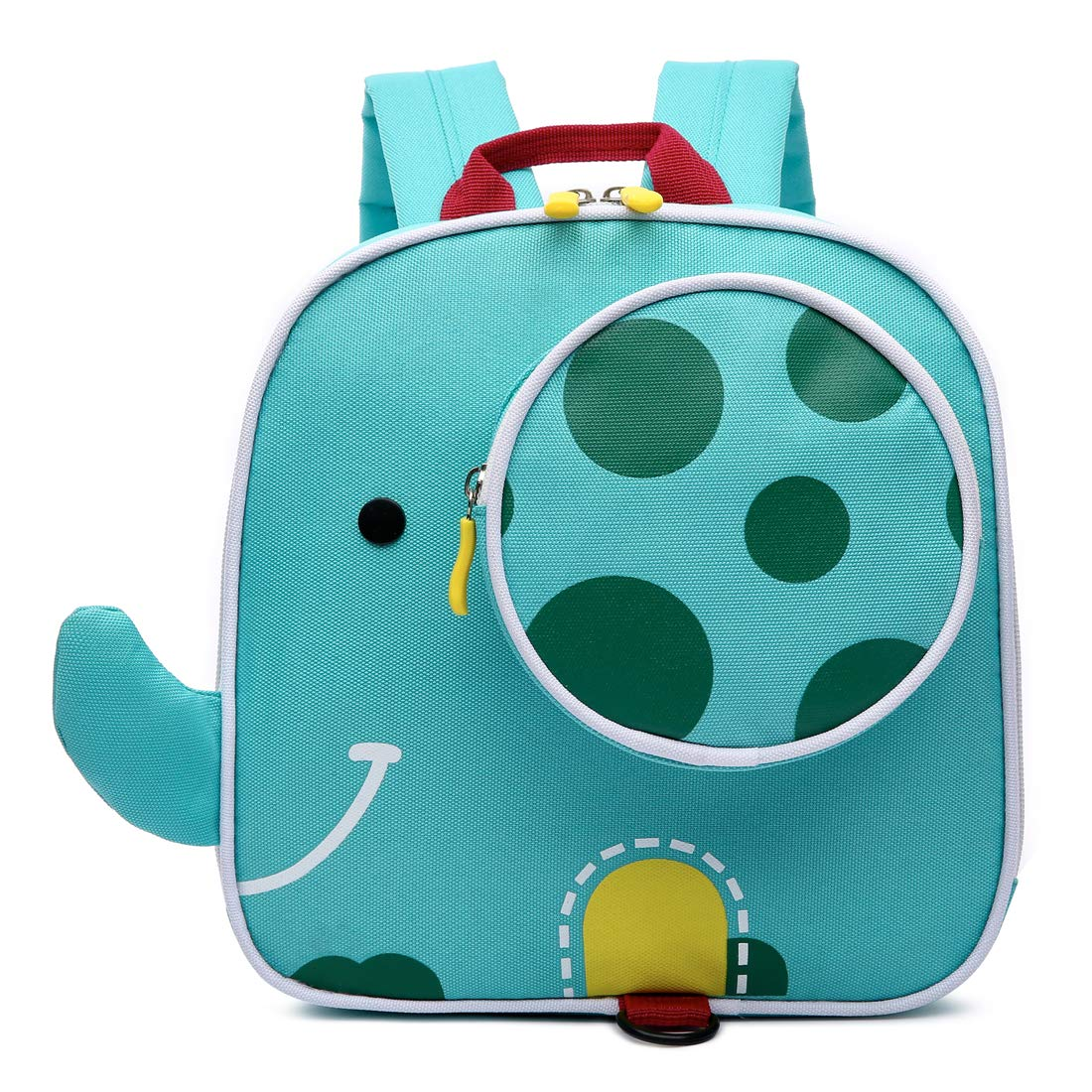 Kid Leash Backpack for Boys Girls Toddler Backpack Harness Anti-Lost Backpack, Elephant Manual Family