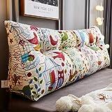 Amazon.com: Almohada grande tapizada para cabecero de cama ...