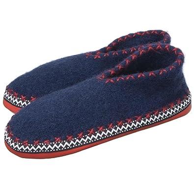 cheap for discount 99226 f7ad0 ALPLER Pantofole Tirolesi MOD. 25002 Blu