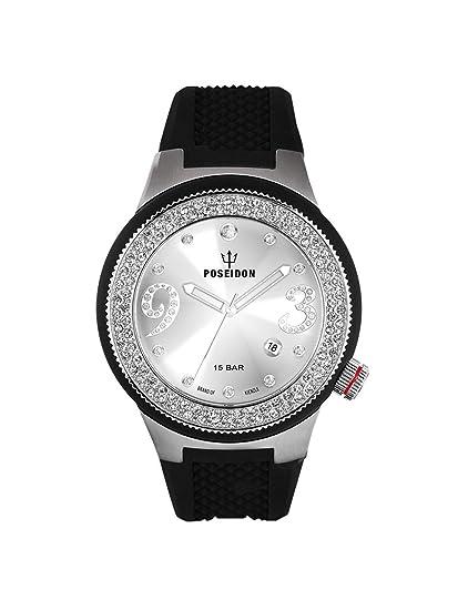 Kienzle K2112011063-00429 - Reloj analógico de cuarzo para mujer con correa de silicona,